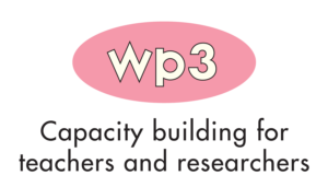 WP 3 - Capacity building for teachers and researchers