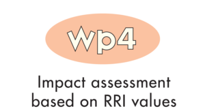 WP 4 - Impact assessment based on RRI values