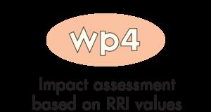 WP 4 - Impact assessment based on RRI values