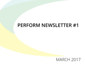 Newsletter #1 – Reflections on innovation in education through performing arts
